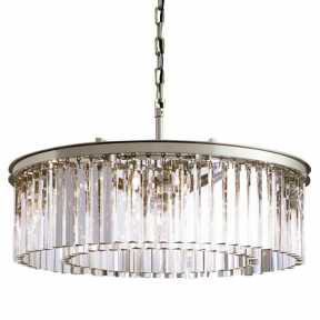 Светильник Delight Collection(1920s Odeon) KR0387P-10B CHROME/CLEAR